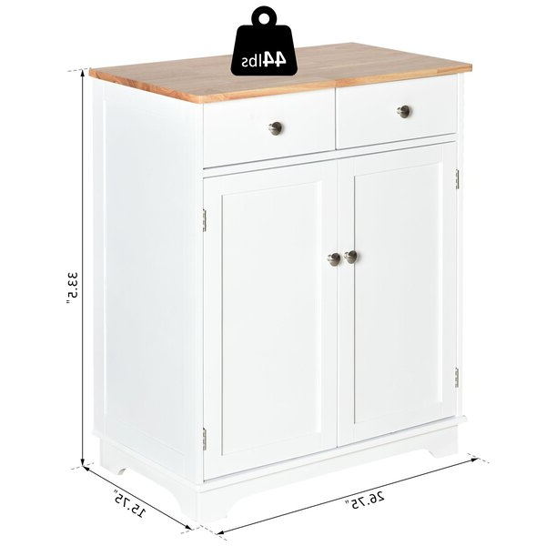 """Canora Grey Strine 26.75"""" Wide 2 Drawer Server & Reviews Intended For Favorite Strine  (View 3 of 20)"""