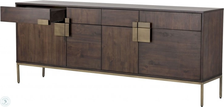 "Coleman Regarding Trendy Barkell 42"" Wide 2 Drawer Acacia Wood Drawer Servers (View 13 of 20)"