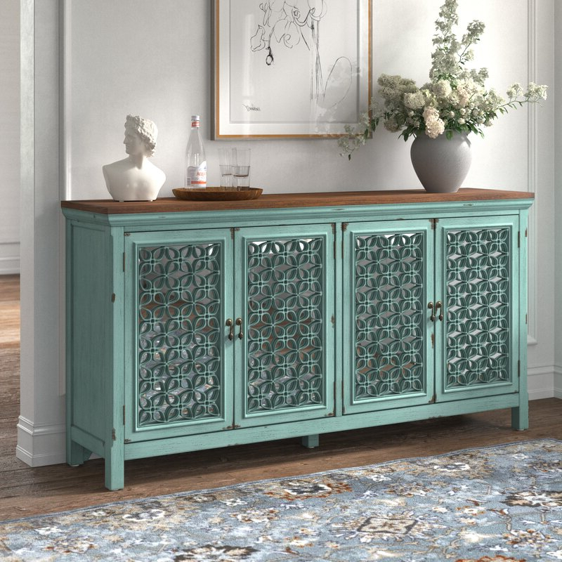 """Coles 72 Wide Sideboards Throughout 2020 Kelly Clarkson Home Del 72"""" Wide Sideboard & Reviews (View 8 of 20)"""
