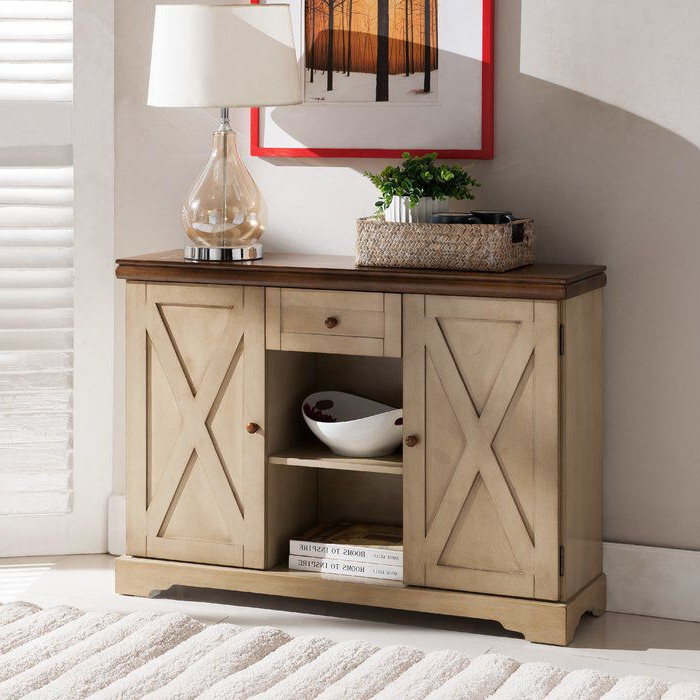 Contemporary Buffets, Sideboards, Wood (View 2 of 12)