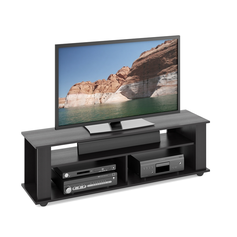"""Corliving Bakersfield Tv Stand In Ravenwood Black – For Intended For Most Popular Aaric Tv Stands For Tvs Up To 65"""" (View 7 of 20)"""