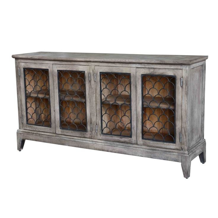 """Crestview Collection – Taylor Sideboard – All (with Images Regarding Popular Maddox 80"""" Wide Mango Wood Sideboards (View 15 of 20)"""