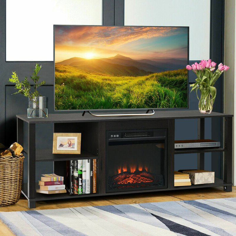 """Current Aaric Tv Stands For Tvs Up To 65"""" With Latitude Run Keenes Tv Stand For Tvs Up To 65 Inches (View 12 of 20)"""
