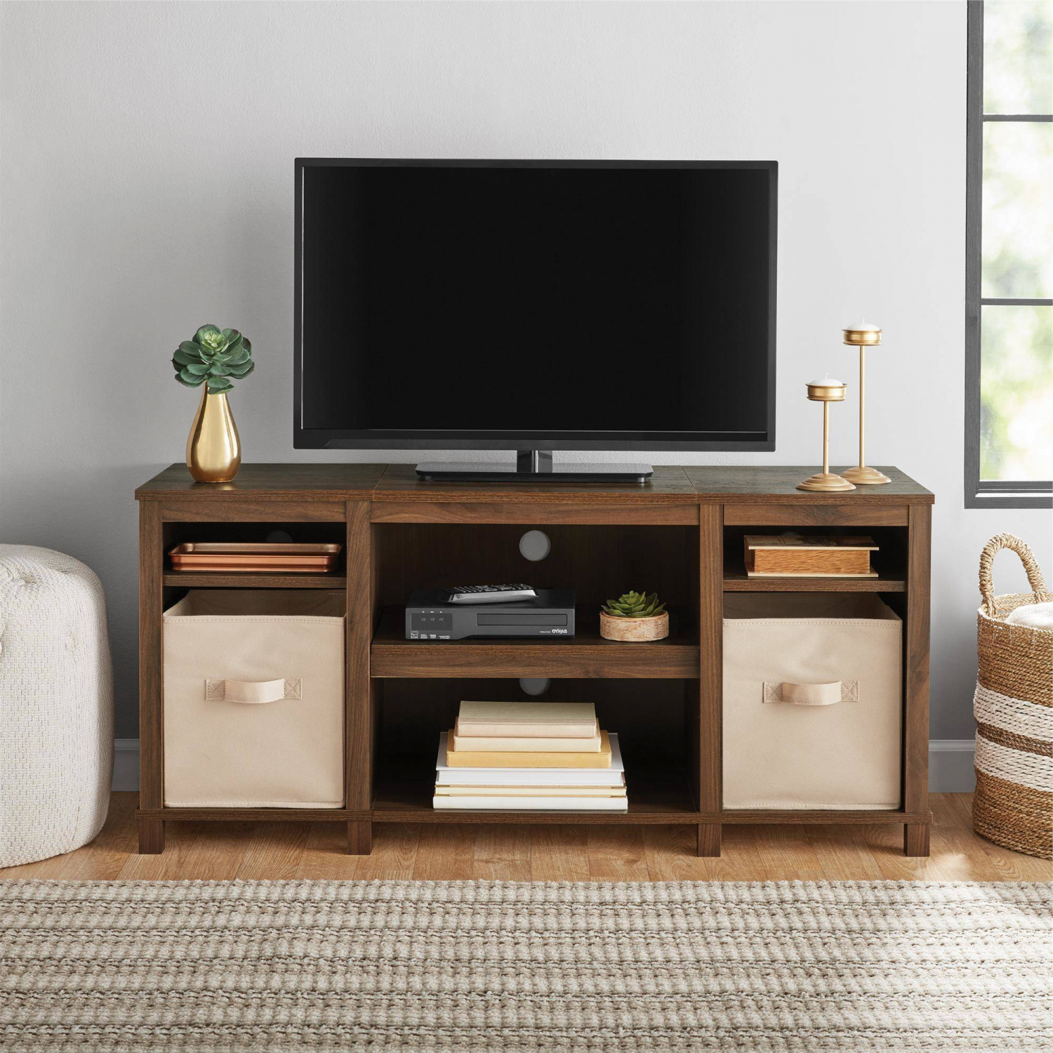 Current Blaire Solid Wood Tv Stands For Tvs Up To 75 Pertaining To 50 Inch Solid Wood Tv Stand Flat Screen Console Modern (View 6 of 20)