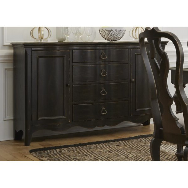 """Current Chouchanik 46 Wide 4 Drawer Sideboards With Regard To Darby Home Co Darya 60"""" Wide 4 Drawer Sideboard & Reviews (View 15 of 20)"""