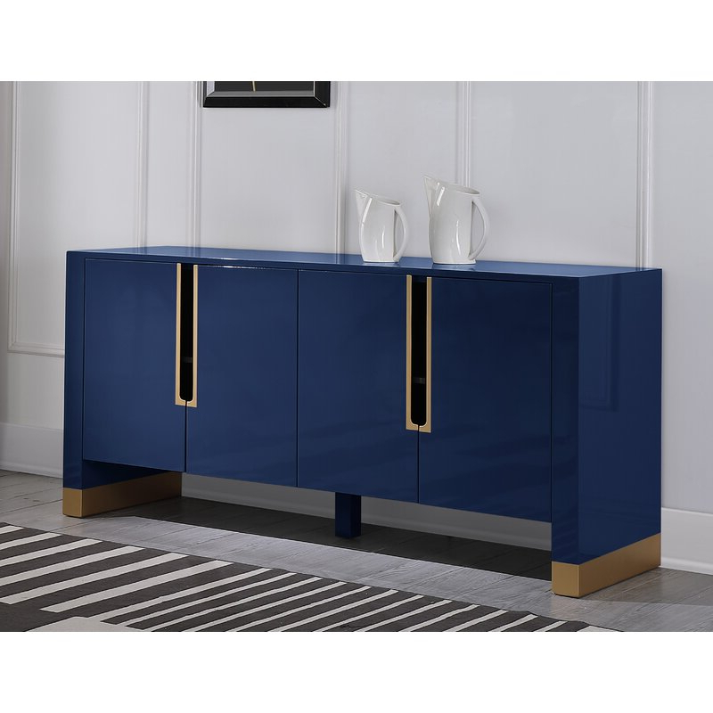 """Current Everly Quinn Thiessen 68"""" Wide Sideboard (View 14 of 20)"""