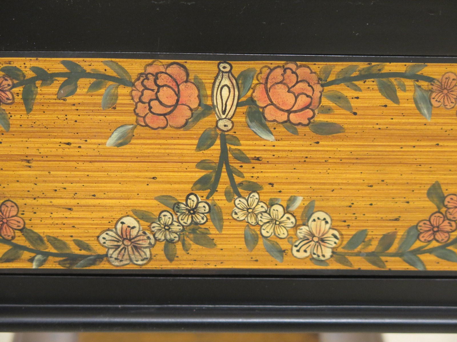 Current F31555ec: Chelsea House Paint Decorated 1 Drawer Console Regarding Kaysville  (View 18 of 20)
