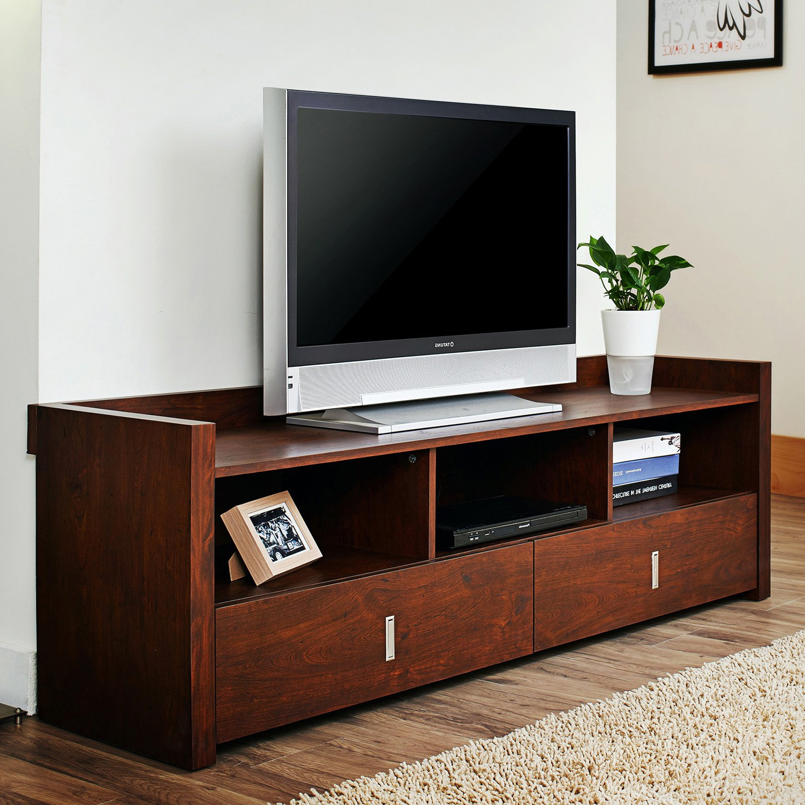 """Current Miah Tv Stands For Tvs Up To 60"""" With Regard To Furniture Of America Helenza 60 In (View 9 of 20)"""
