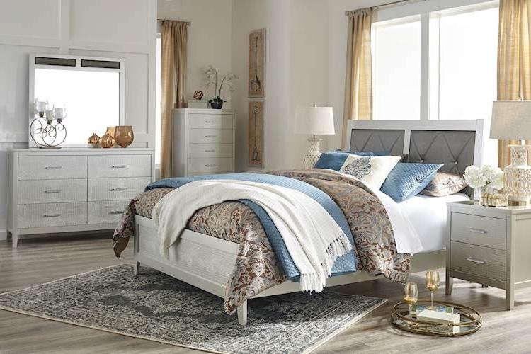 Current Olivet Silver Bedroom Set – Speedyfurniture With Regard To Neidig  (View 6 of 8)