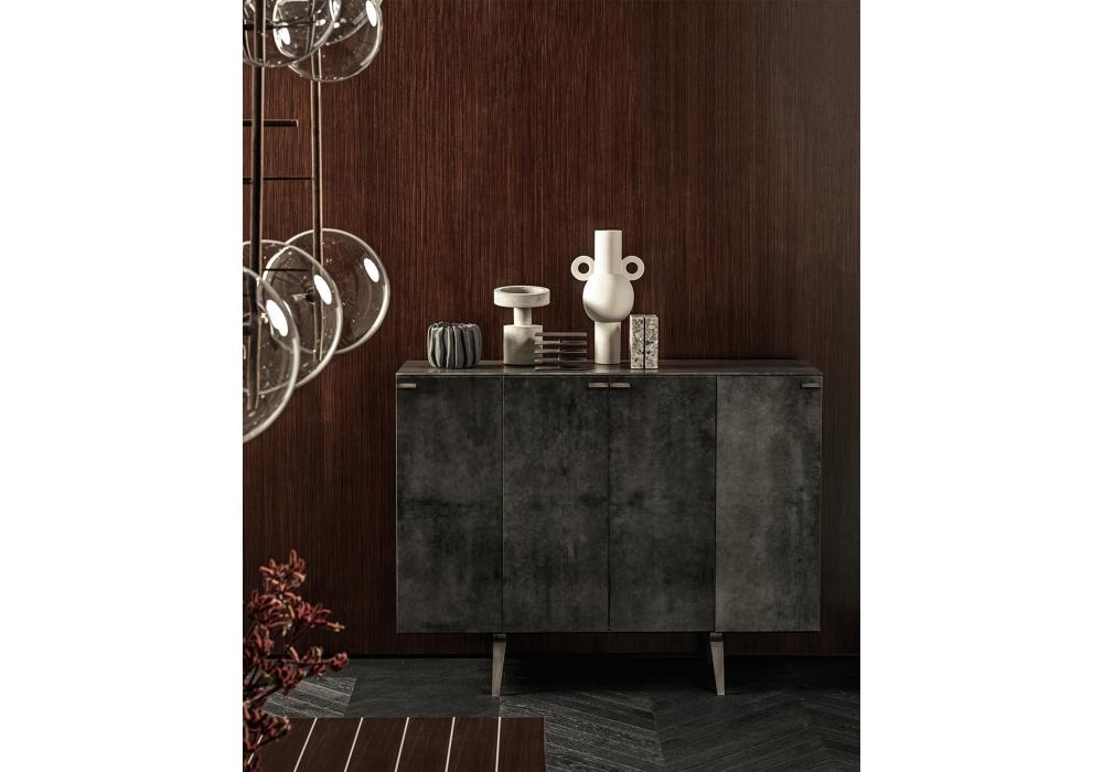 Current Pandora Buffet Tables Pertaining To Pandora Pergamena Gallotti&radice Sideboard – Milia Shop (View 15 of 20)
