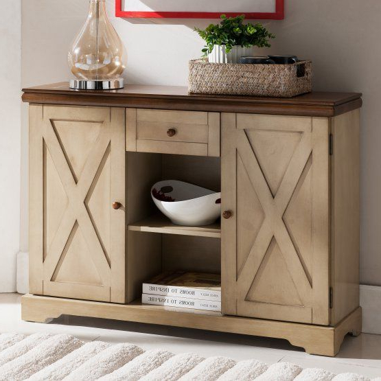 Current Philbrick Drawer Servers Within K & B Furniture C1249 Console Table (View 11 of 12)