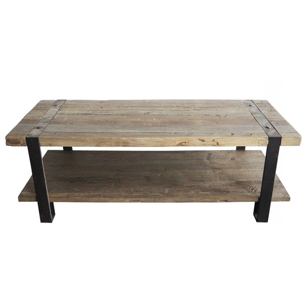 """Current Zinaida 59"""" Wide Mango Wood Buffet Tables Pertaining To Elm Cocktail Table (View 8 of 20)"""