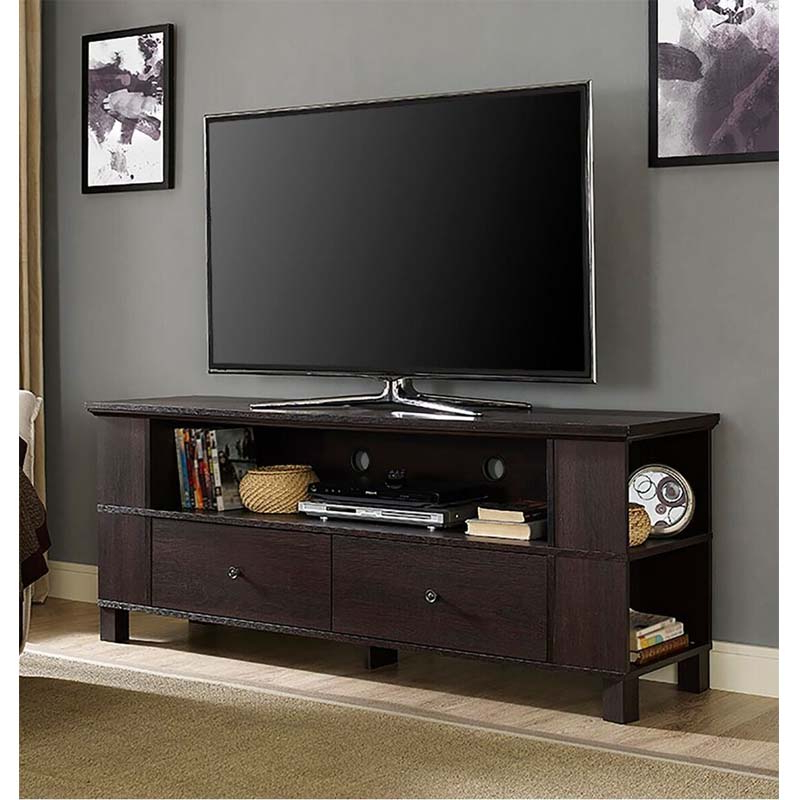 """Dallas Tv Stands For Tvs Up To 65"""" Pertaining To Current Walker Edison 65 Inch Tv Stand With Multimedia Storage (View 11 of 20)"""