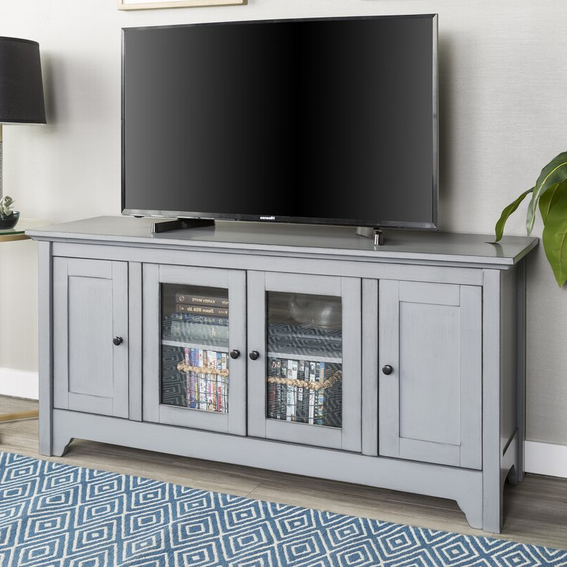 """Darby Home Co Bracamonte Tv Stand For Tvs Up To 58 Intended For Well Known Jace Tv Stands For Tvs Up To 58"""" (View 5 of 20)"""