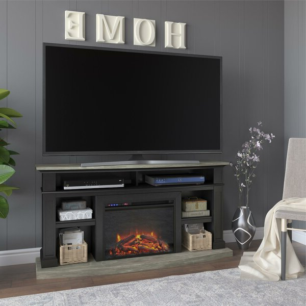 """Darby Home Co Georgie Tv Stand For Tvs Up To 65"""" With Inside Trendy Buckley Tv Stands For Tvs Up To 65"""" (View 12 of 20)"""