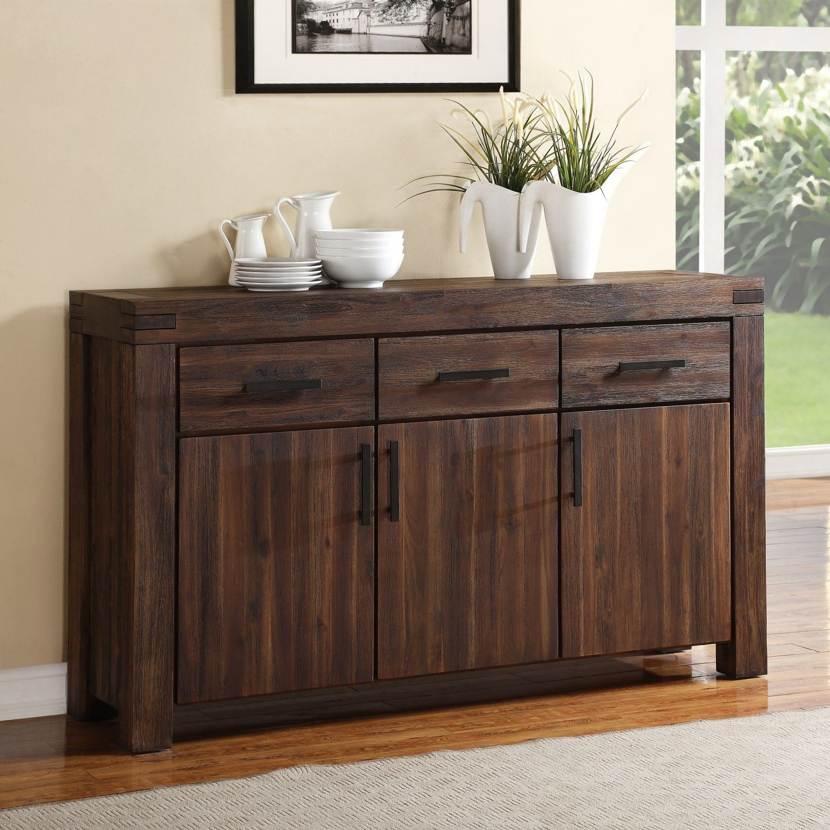 """Decoração For Well Liked Benghauser 63"""" Wide Sideboards (View 7 of 20)"""