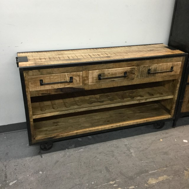 """Desirae 48"""" Wide 2 Drawer Sideboards With Well Known Three Drawer Two Shelf Sideboard – Nadeau Tampa (View 16 of 20)"""