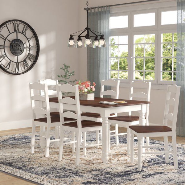 Dining Room Sets, 7 Piece For Most Up To Date Lacluta Sideboards (View 17 of 18)