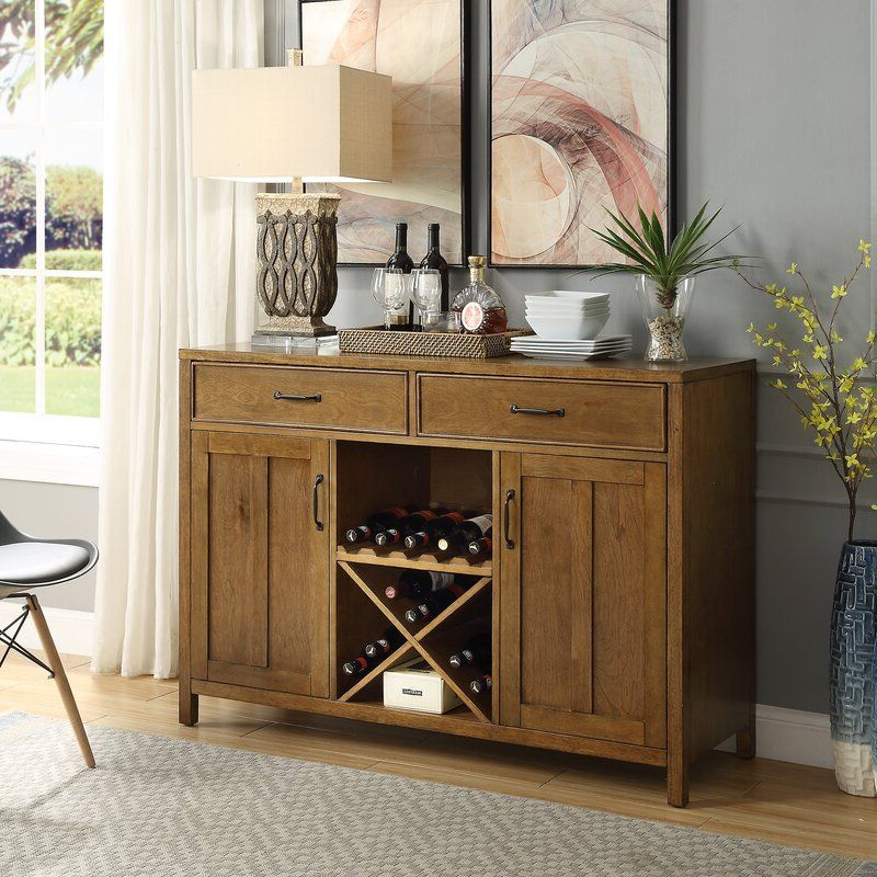 """Dining Room Within Milena 52"""" Wide 2 Drawer Sideboards (View 11 of 20)"""
