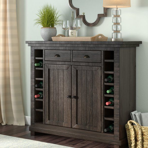 """Dining Server, Buffet With Most Popular Herringbone 48"""" Wide Buffet Tables (View 19 of 20)"""