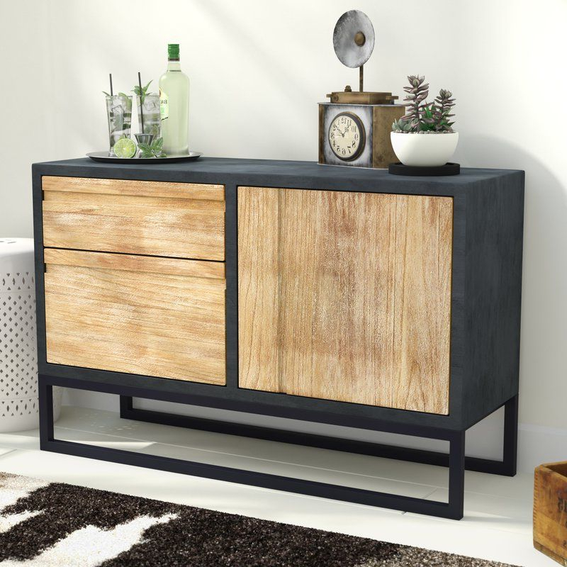 """Dodson 42"""" Wide 2 Drawer Server (View 6 of 20)"""