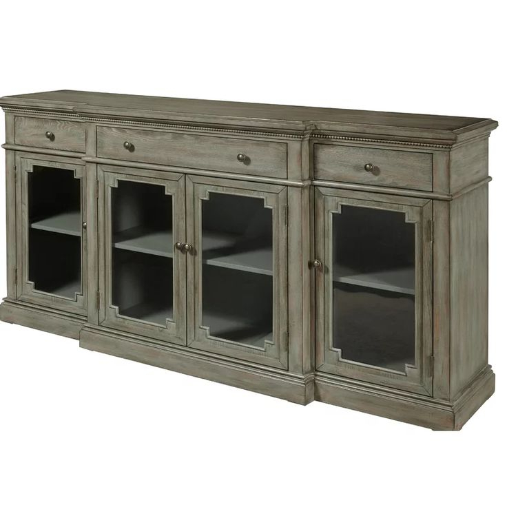 """Drawers In Widely Used Ellison 76"""" Wide Sideboards (View 10 of 20)"""