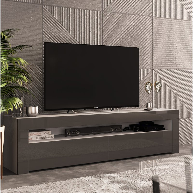 """Ebern Designs Camargue Tv Stand For Tvs Up To 65 Pertaining To Latest Adalberto Tv Stands For Tvs Up To 65"""" (View 5 of 20)"""