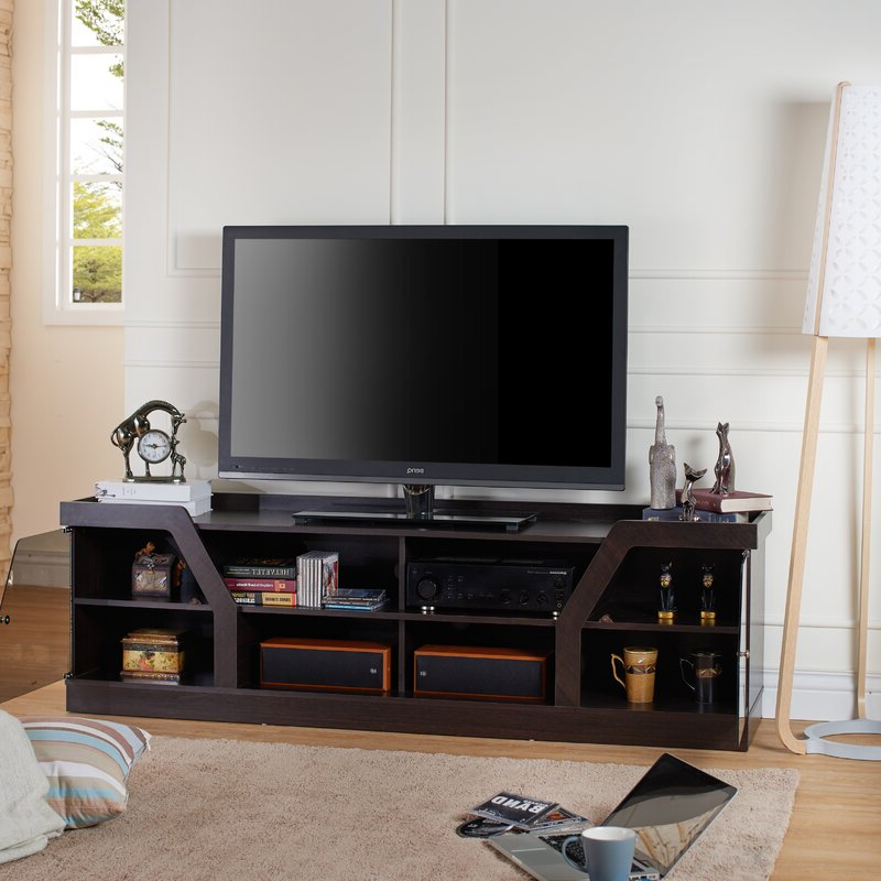 """Ebern Designs Oxfordshire Tv Stand For Tvs Up To 70 In Most Current Lederman Tv Stands For Tvs Up To 70"""" (View 9 of 20)"""