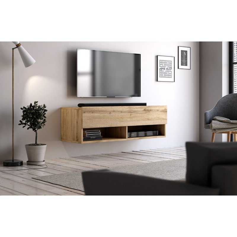 """Ebern Designs Wescott Tv Stand For Tvs Up To 43"""" & Reviews Intended For 2019 Quillen Tv Stands For Tvs Up To 43"""" (View 2 of 20)"""