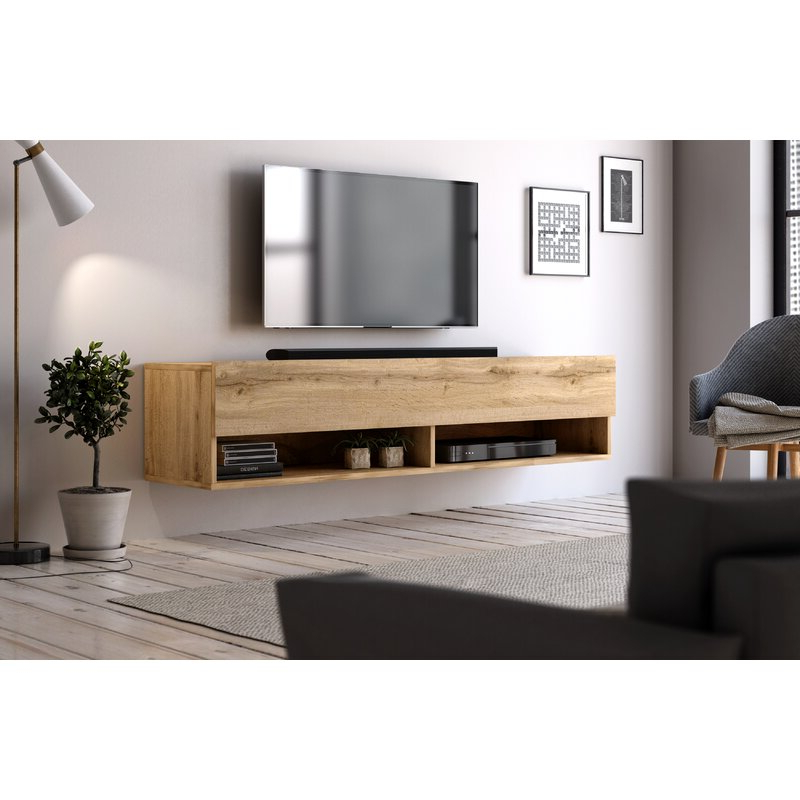 """Ebern Designs Wescott Tv Stand For Tvs Up To 60"""" & Reviews Within Current Whittier Tv Stands For Tvs Up To 60"""" (View 4 of 20)"""