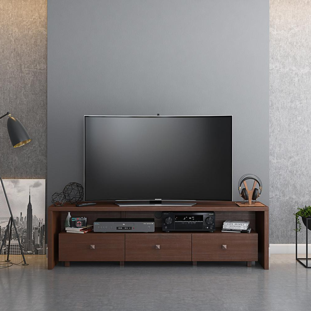 """Elegant Tv Stand For Tv's Up To 70"""" With Storage (View 6 of 20)"""