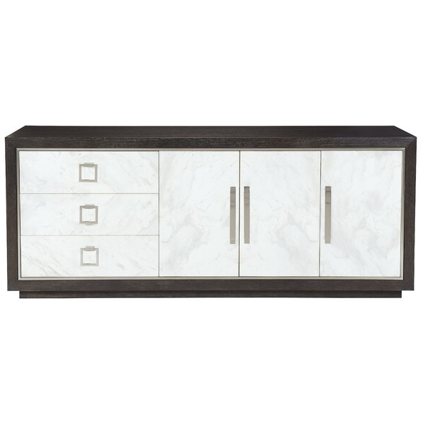 "Emmie 84"" Wide Sideboards Inside 2020 Bernhardt Decorage 84"" Wide 3 Drawer Sideboard (View 13 of 20)"