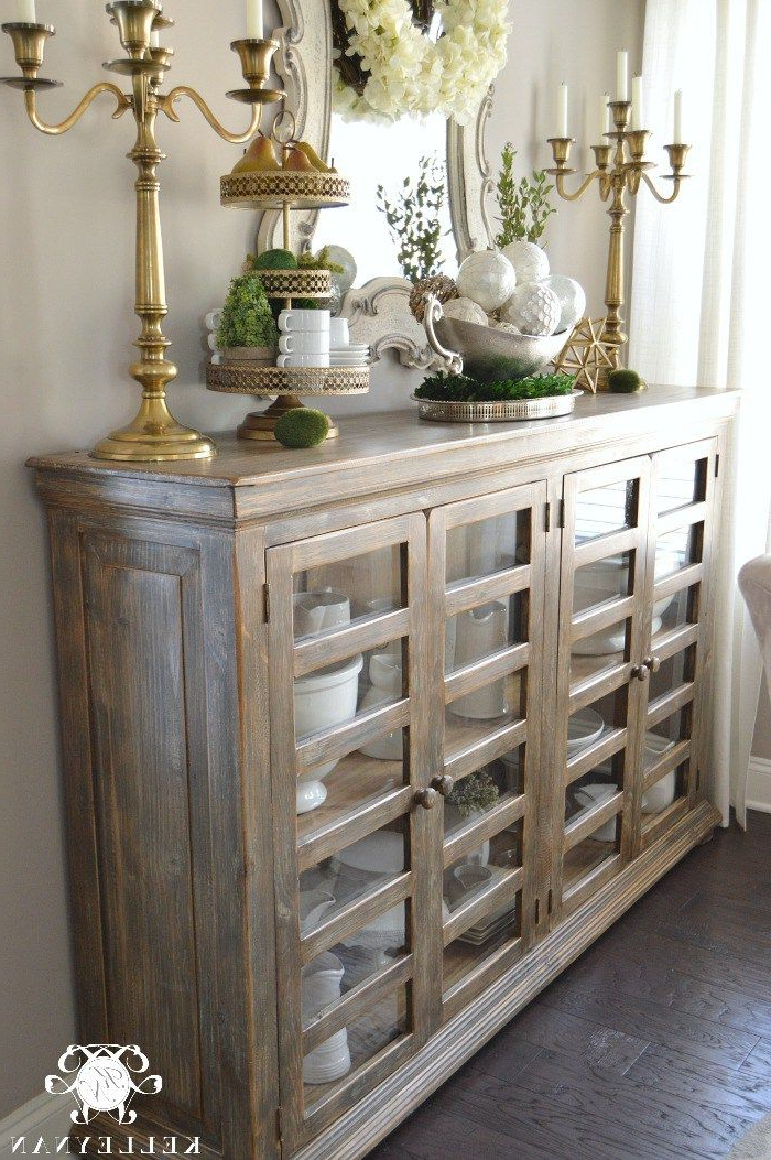 """Esszimmer Sideboard For Favorite Electra 46"""" Wide 4 Drawer Acacia Wood Buffet Tables (View 13 of 17)"""
