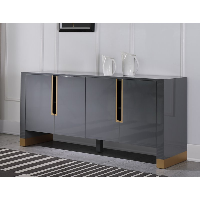 Everly Quinn 68'' Wide Sideboard & Reviews (View 10 of 20)
