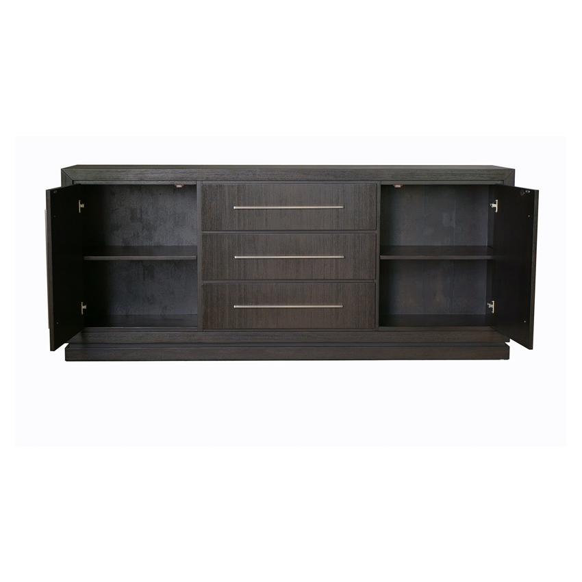 Famous 3 Drawer And 2 Door Cabinet With Metal Legs For Portofino 3 Drawer & 2 Door Cabinet Storage (em Pfb (View 20 of 20)