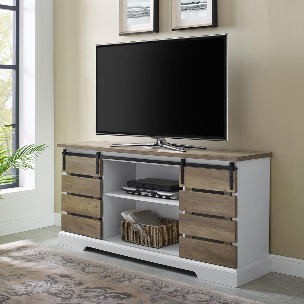 """Famous Berene Tv Stands For Tvs Up To 58"""" Intended For Welwick Designs 58 In (View 12 of 20)"""
