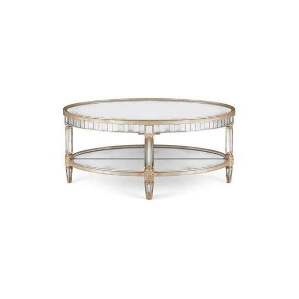 Famous John Richard Collection Keene Mirrored Coffee Table Throughout Keeney Sideboards (View 8 of 20)