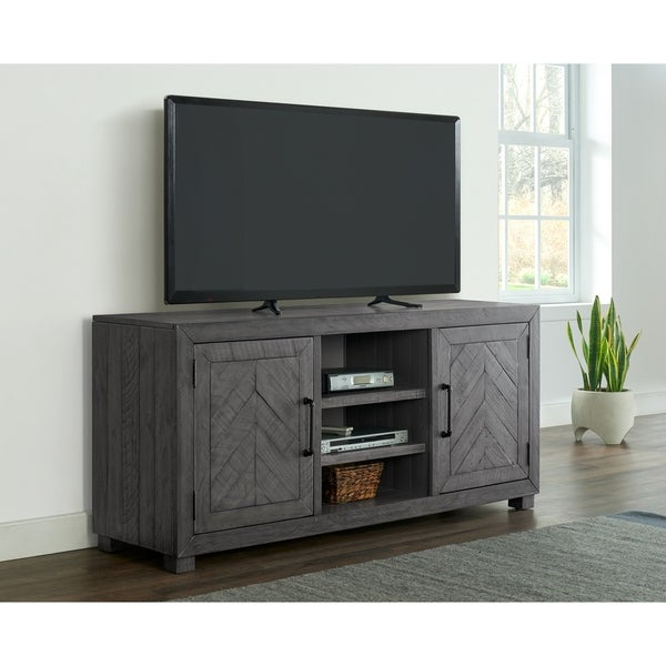 """Famous Shop Martin Svensson Home Huntington 65"""" Solid Wood Tv Intended For Dallas Tv Stands For Tvs Up To 65"""" (View 16 of 20)"""