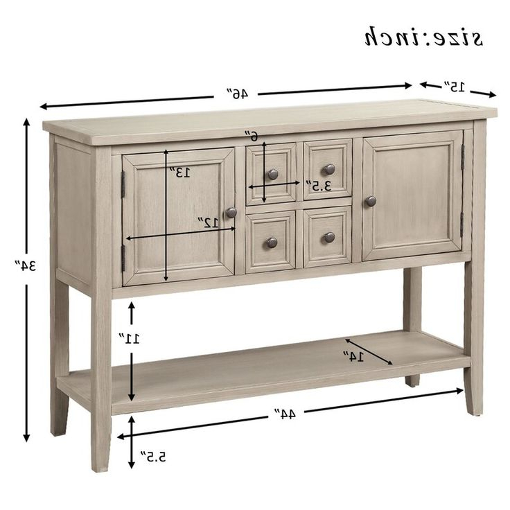"""Famous Voight 46"""" Wide 4 Drawer Acacia Wood Drawer Servers For Voight 46"""" Wide 4 Drawer Acacia Wood Server In (View 8 of 20)"""
