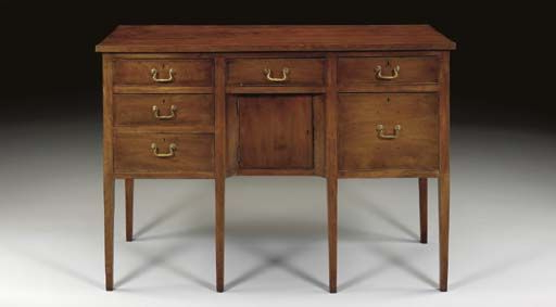 """Fashionable A Federal Walnut Sideboard Probably North Carolina, 1790 Pertaining To Emmie 84"""" Wide Sideboards (View 15 of 20)"""