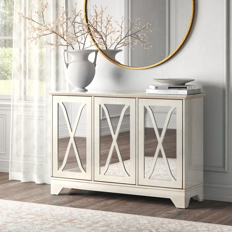"""Fashionable Kelly Clarkson Home Marguerite 52"""" Wide Sideboard Within Blade 55"""" Wide Sideboards (View 13 of 20)"""