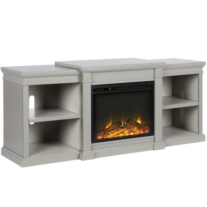 """Fashionable Lederman Tv Stands For Tvs Up To 70"""" Regarding Stowe Tv Stand For Tvs Up To 70"""" With Electric Fireplace (View 20 of 20)"""