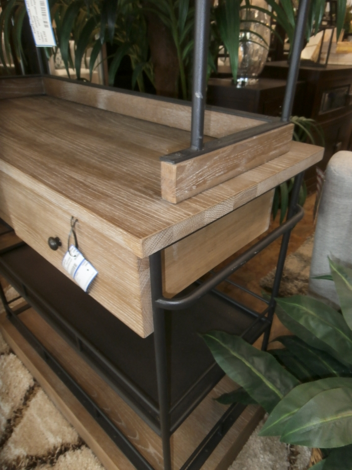 """Fashionable Pine & Metal Bakers Rack At The Missing Piece Throughout Kinston 74"""" Wide 4 Drawer Pine Wood Sideboards (View 12 of 20)"""