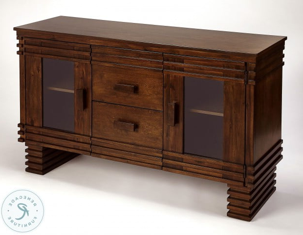 Fashionable Ramsey Dark Brown Sideboard From Butler (View 20 of 20)