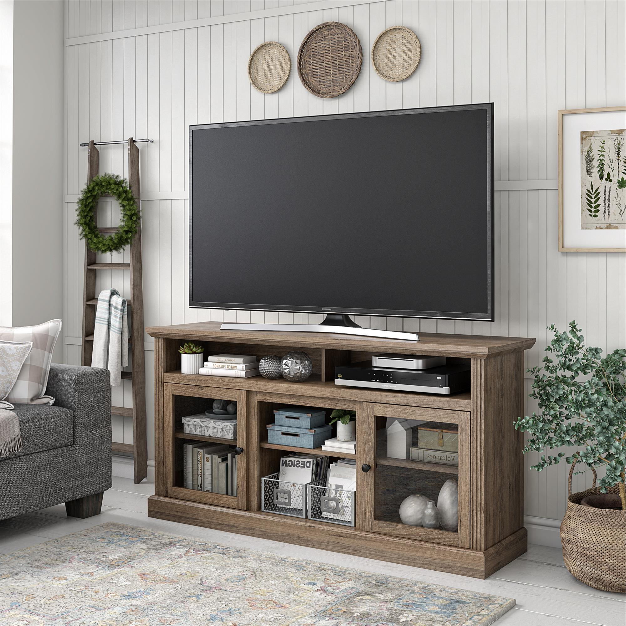 """Favorite Ameriwood Home Leesburg Tv Stand For Tvs Up To 65"""", Rustic In Buckley Tv Stands For Tvs Up To 65"""" (View 3 of 20)"""