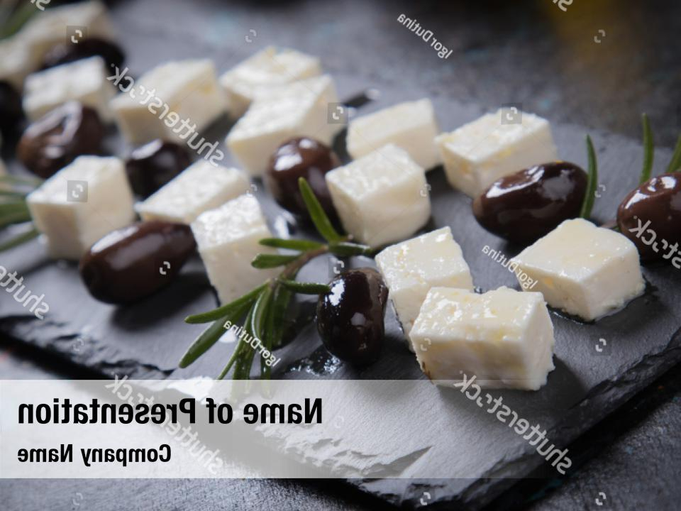 Favorite Cow Cheese Cheese Greek Feta Powerpoint Template – Cow Throughout Laux  (View 4 of 8)
