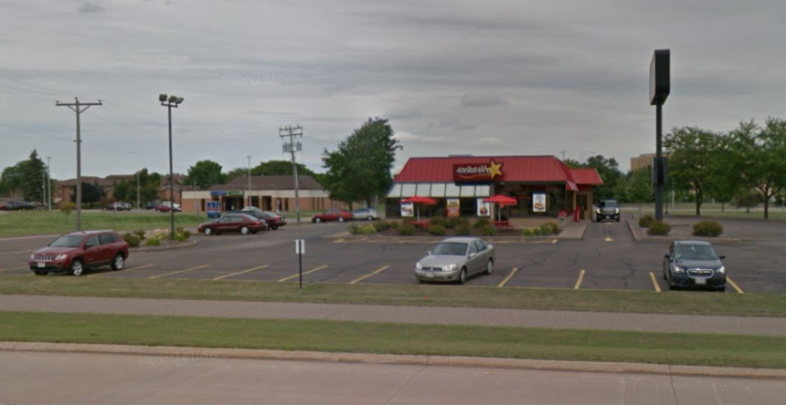 """Favorite Hardee's At West Clairemont Avenue In Eau Claire Closes In Richmond Valley Tv Stands For Tvs Up To 78"""" (View 10 of 20)"""
