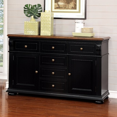 """Featured Photo of Isra 56"""" Wide 3 Drawer Sideboards"""