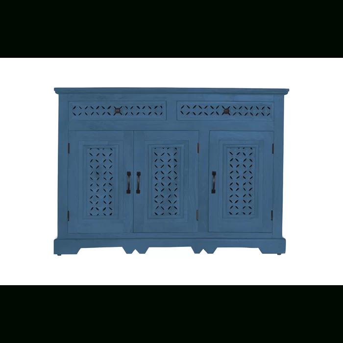 "Favorite Lorraine 48"" Wide 2 Drawer Acacia Wood Drawer Servers For Lorraine 48"" Wide 2 Drawer Acacia Wood In (View 8 of 17)"
