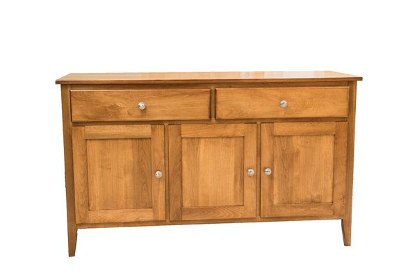 """Favorite Newport 55 Inch Buffet From Dutchcrafters Amish Furniture Pertaining To Pardeesville 55"""" Wide Buffet Tables (View 12 of 20)"""